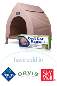 Davison Designed Product Idea: Cool Cot House