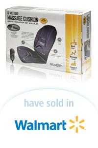 Davison Designed Product Idea: Relaxzen Seat Cushion Packaging