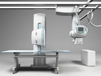 Davison Designed Industrial Product Idea: Medical X-ray Projection System