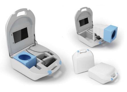 Davison Designed Industrial Product Idea: Portable CTM Diagnostic Device
