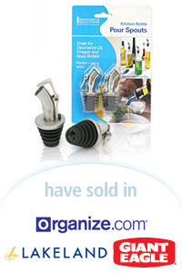 Davison Designed Product Idea: Kitchen Bottle Pour Spouts