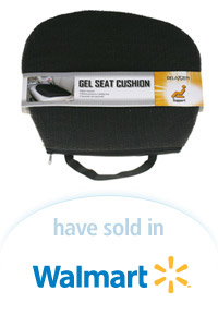 Davison Designed Product Idea: Gel Seat Cushion Packaging