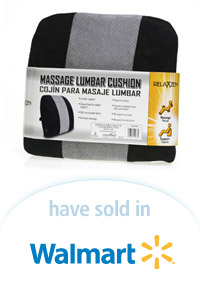 Davison Designed Product Idea: Massage Lumbar Cushion Packaging