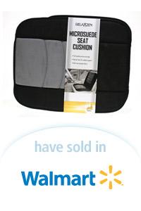 Davison Designed Product Idea: Microsuede Seat Cushion Packaging