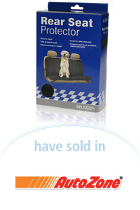 Davison Designed Product Idea: Rear Seat Protector Packaging