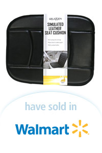 Davison Designed Product Idea: Simulated Leather Seat Cushion Packaging