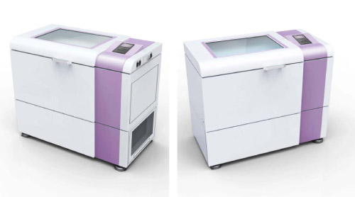 Davison Designed Industrial Product Idea: Shaker with Touch Screen CP
