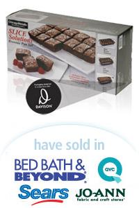 Davison Designed Product Idea: Slice Solutions Brownie Pan Set Packaging