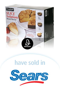 Davison Designed Product Idea: Slice Solutions Round Pan  Packaging