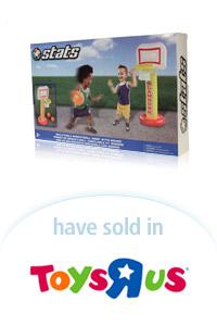 Davison Designed Product Idea: Stats Inflatable Basketball Hoop