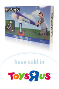 Davison Designed Product Idea: Stats Inflatable Home Run Hitter with Bat