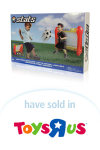 Davison Designed Product Idea: Stats Inflatable Soccer Goal