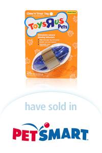 "Davison Designed Product Idea: Toys ""R"" US Pets Treat Toy Football"