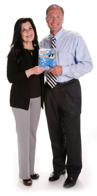 Diane, Inventor of the Hydro Bone with Mr. Davison