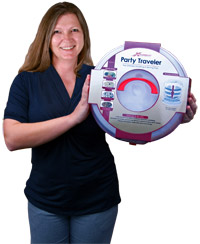 Joy, Inventor of the Party On The Go