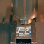 Closeup of Milling Machine