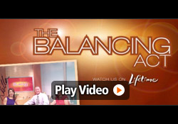 "George Davison talks inventing on Lifetime's ""Balancing Act"""