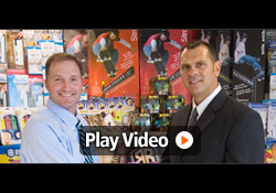 Video testimonial of John, Inventor of The Bikeboard