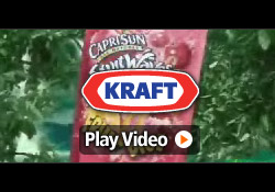 Kraft uses client's BikeBoard to sell Capri Sun Drinks