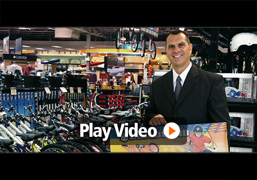 Video testimonial of John, Inventor of The Bikeboard
