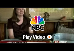 NBC (KKCO) features Davison client, Joy, inventor of the Party On The Go