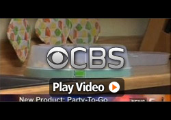CBS (KREX) features Davison client, Joy, inventor of the Party On The Go