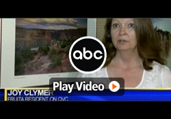 ABC (KJCT) features Davison client, Joy, inventor of the Party on the Go