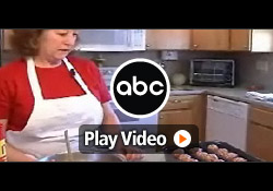 Meatball Baker Inventor, Jean, featured on ABC