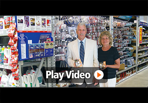 Video testimonial of Gary and Ruth, Inventor of Twister Bolts and Caps
