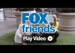 Four Davison-designed Products were on Fox & Friends