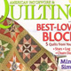 quilting magazine cover