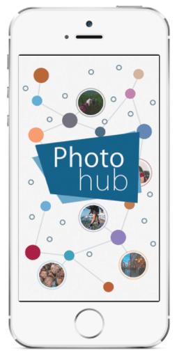 Davison Designed Product Invention - Photo Hub App on the iPhone