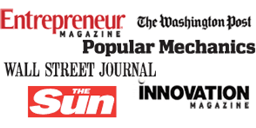 Davison's client products have been featured in Entreprenuer, The Washington Post, Wall Street Journal, and more!