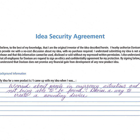 Idea Security Agreement
