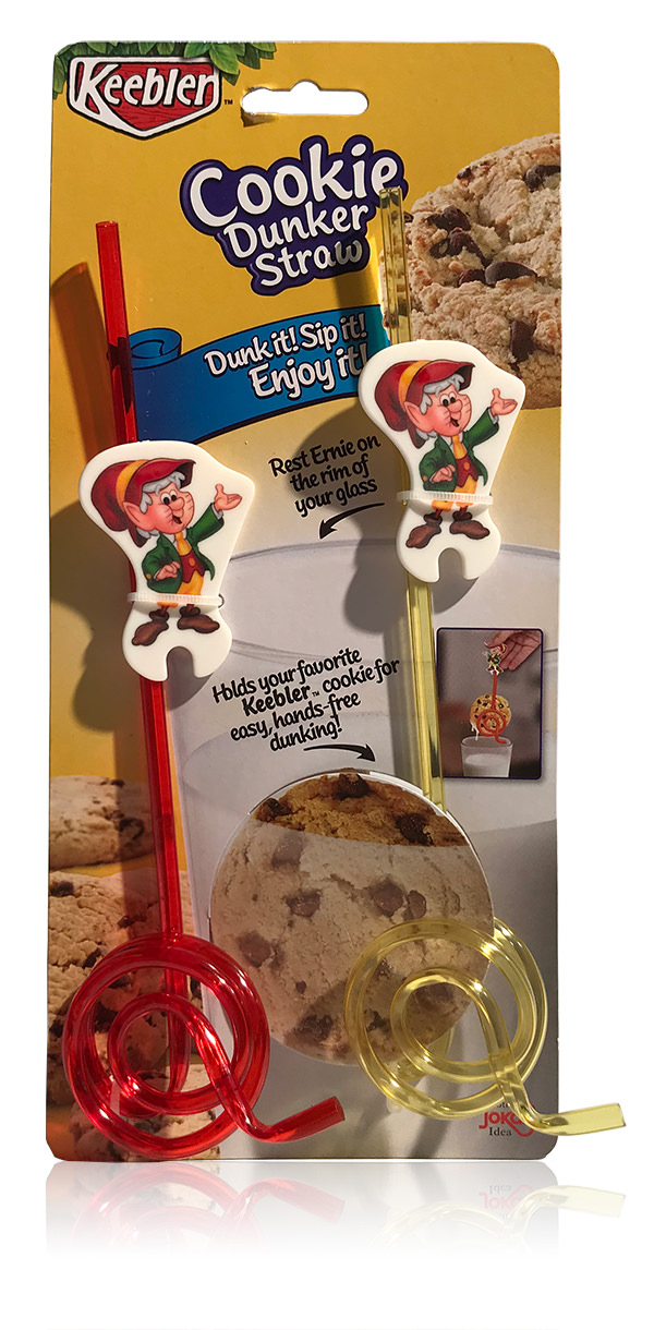 Davison Produced Product Invention: Keebler Cookie Straw