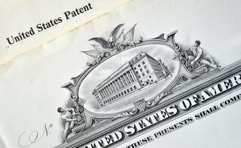 United States Patent- Printed