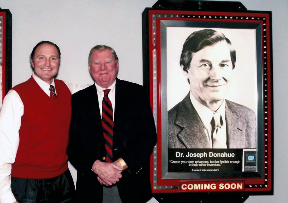 Our Founder, George Davison with Joseph Donahue