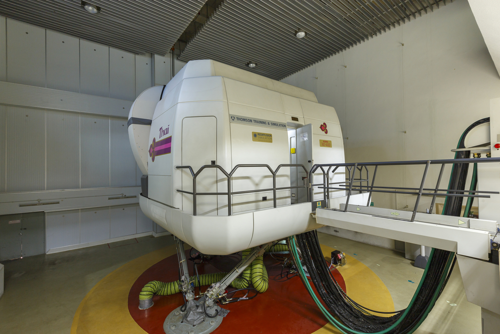 Flight simulator machine