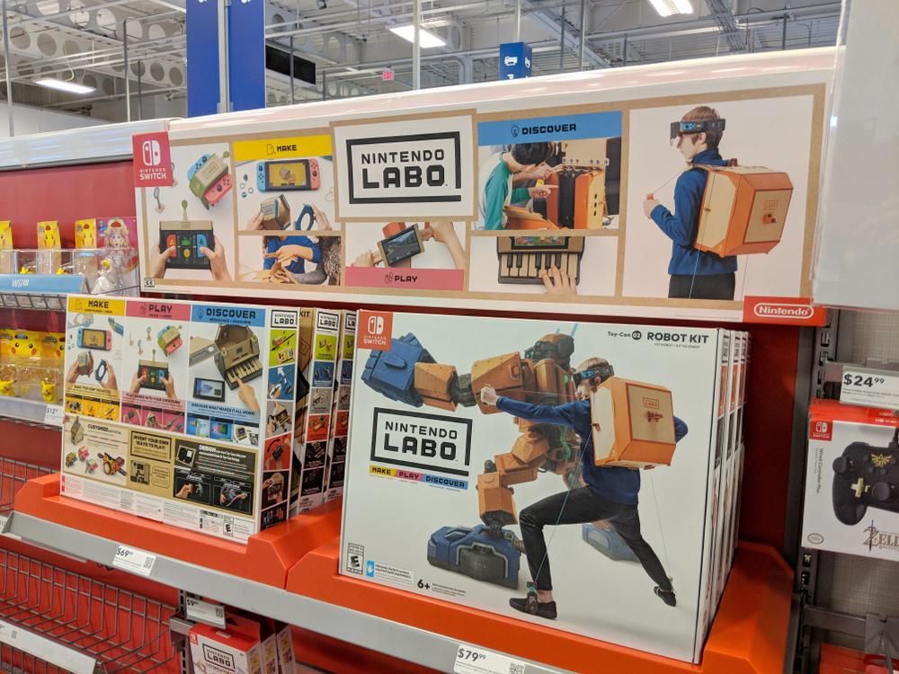 Nintendo Labo in stores