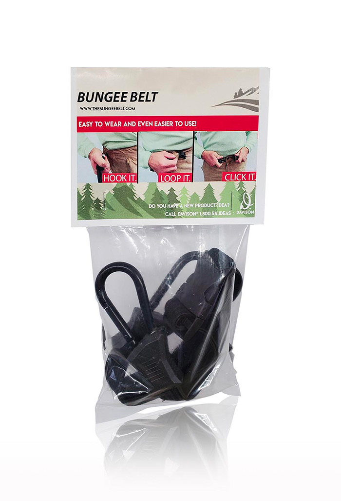 Davison Produced Product Invention: The Bungee Belt