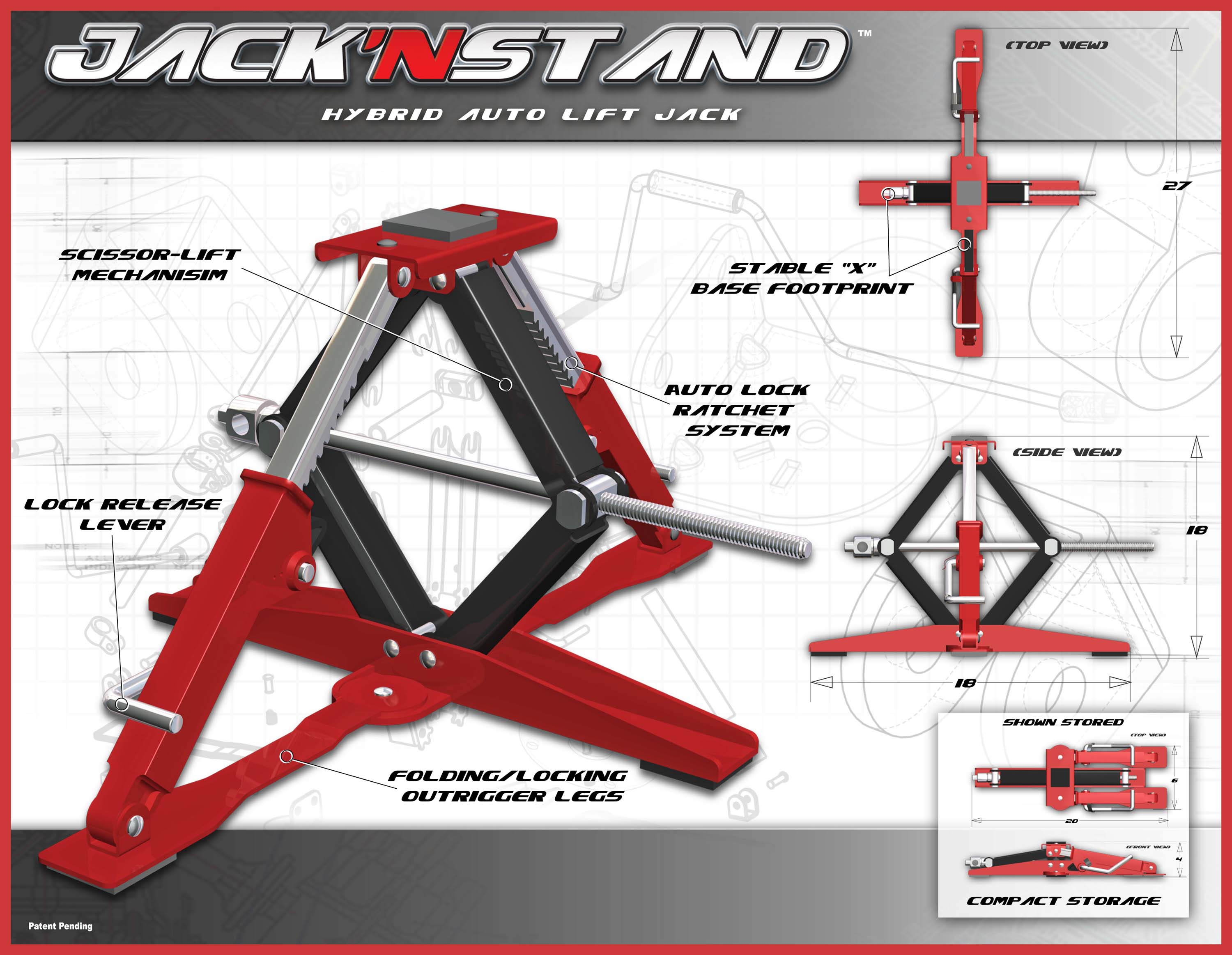 Jack Stand Designs : I d magazine selects jack n stand for honorable mention